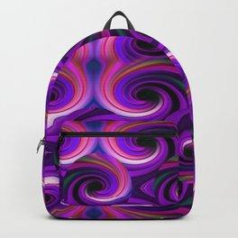 Swirled and Twirled Colors Backpack