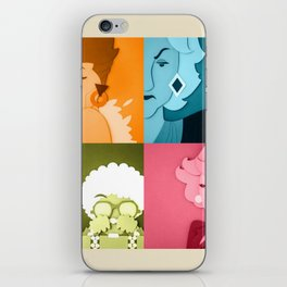 The Golden Girls Abstract iPhone Skin