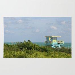 Lifegard Station At South Beach Miami Rug
