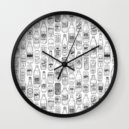 Seltzer Crazy Wall Clock