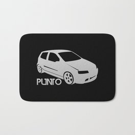 Fiat Punto - silver - Bath Mat