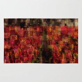 Field of Tulips Mosaic Rug