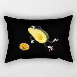 Avocado rollerskate Rectangular Pillow