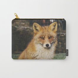 Beautiful Sitting Fox Carry-All Pouch