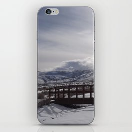 A Winter's Serenity iPhone Skin