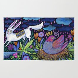 Frolic in the Forest Rug