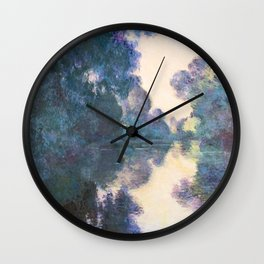 Meeting with Monet Wall Clock