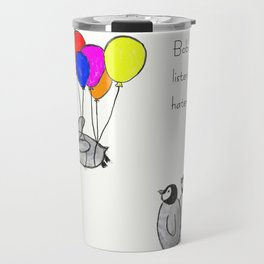 To be a Flying Penguin Travel Mug