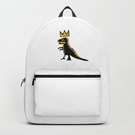 basquiat dinosaurus Backpack