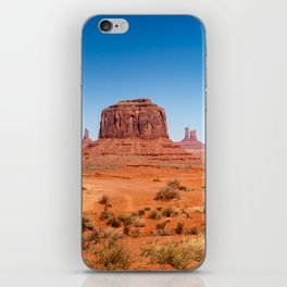 John Ford Point Panorama at Monument Valley iPhone Skin