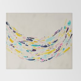 A Cup of Whimsy Throw Blanket