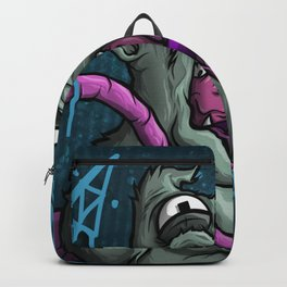 Ronnie The Rat 1 Royal Stain Backpack
