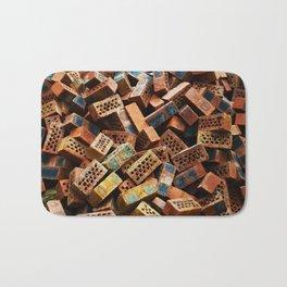 Chinese Bricks Bath Mat