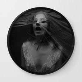 Choking Wall Clock