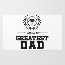 World`s Greatest DAD Rug