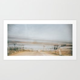 Briges of Gray County Art Print