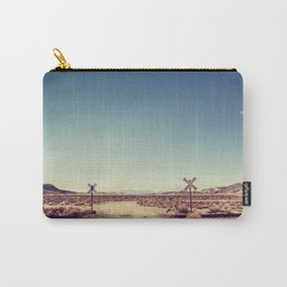 Railroad Crossing California desert Carry-All Pouch