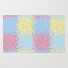 Pastel Jiggly Tile Pattern Rug
