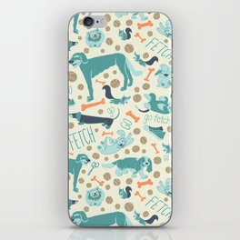 Park Dogs iPhone Skin