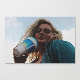 Hell Yeah Bitch Canvas Print