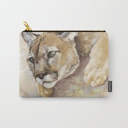 Captivated Mountain Lion Carry-All Pouch