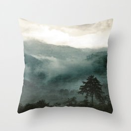 Above the Clouds and Beyond Throw Pillow