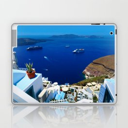 Santorini Caldera Laptop & iPad Skin