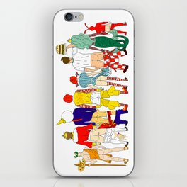 Fast Food Butts Mascots iPhone Skin