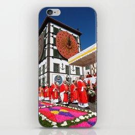 Religious festival iPhone Skin
