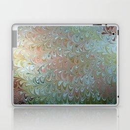 Soft Seaweed Water Marbling Laptop & iPad Skin