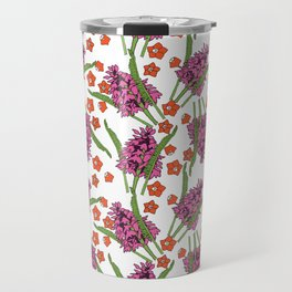 Sultry Summer - Orchids Travel Mug