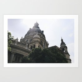 Church in Budapest Art Print