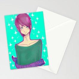 Pretty boys Stationery Cards