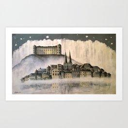 Magical Uppsala Art Print