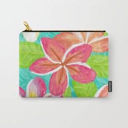 Plumeria love Carry-All Pouch