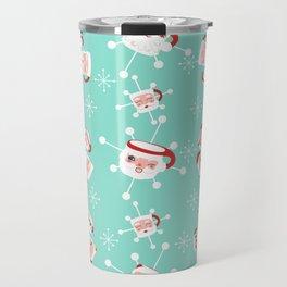 Atomic Santa Mug Shots Travel Mug