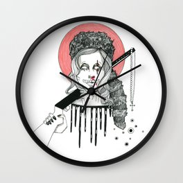 Rocky Raccoon Wall Clock