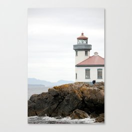 San Juan Island Lighthouse Canvas Print