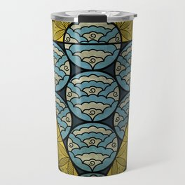 Sacred Geometry - Octahedron Air Travel Mug