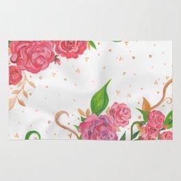 Lovely Roses Rug