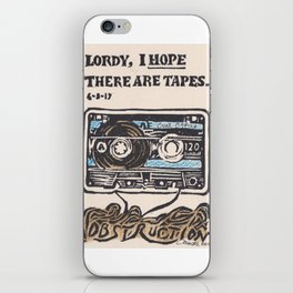 Lordy, I hope there are tapes iPhone Skin
