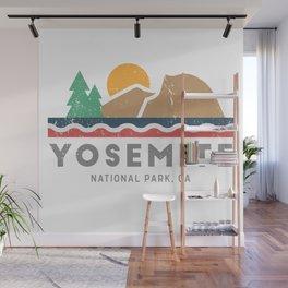 Yosemite National Park, California Graphic Wall Mural