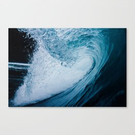 In The Barrel Of A Wave Tube Canvas Print