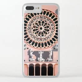 Assisi Cathedral Clear iPhone Case