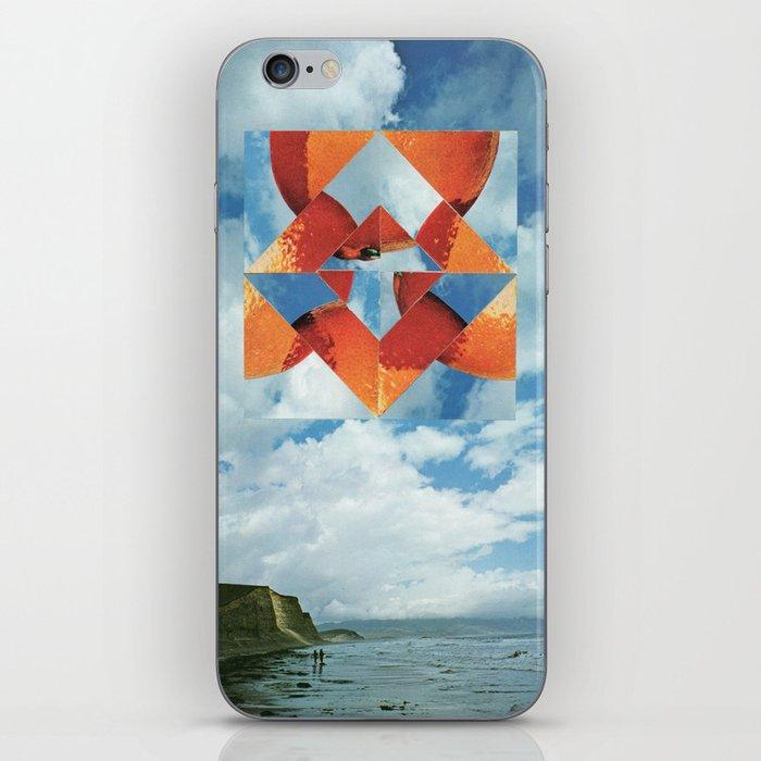 Orange Sky iPhone Skin