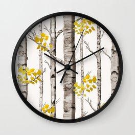 Birch Love Wall Clock