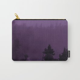 Purple Fog Carry-All Pouch