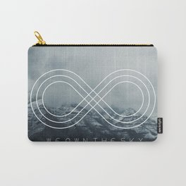 WE OWN THE SKY - Hipster quotes Carry-All Pouch