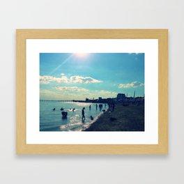 Southend-on-Sea Beach Framed Art Print