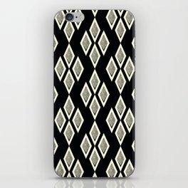 Black and cream ,classic iPhone Skin